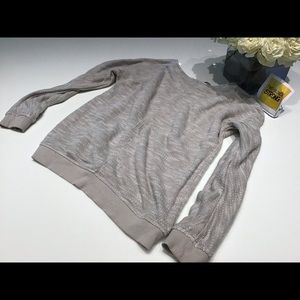 Calvin Klein Jeans long sleeve gray sweatshirt SM